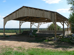 Hangar agricole emanuel mauret for Plan hangar agricole